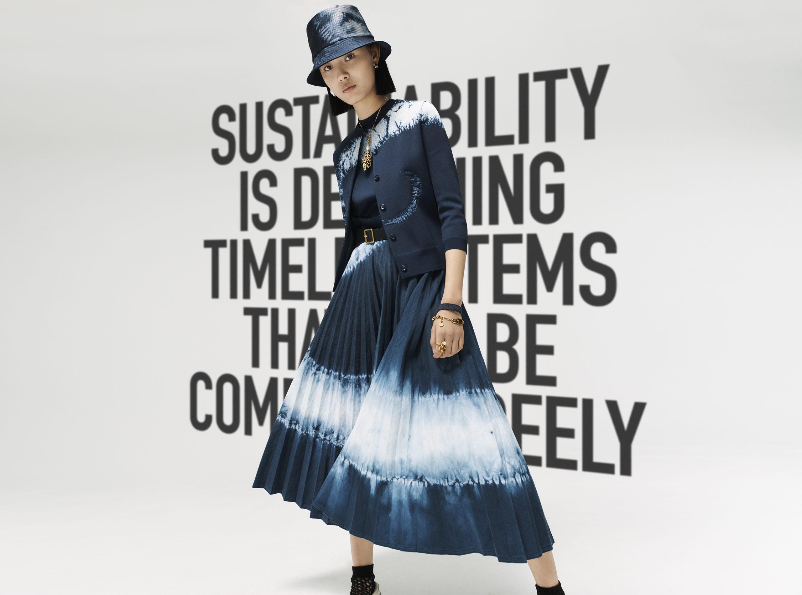 Dior onthult tie-dyecollectie