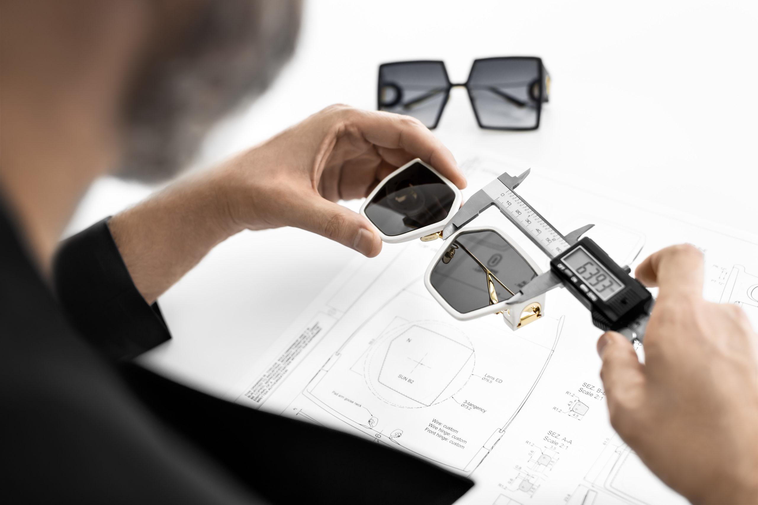Neem een kijkje achter de schermen bij de Dior zonnebrillen