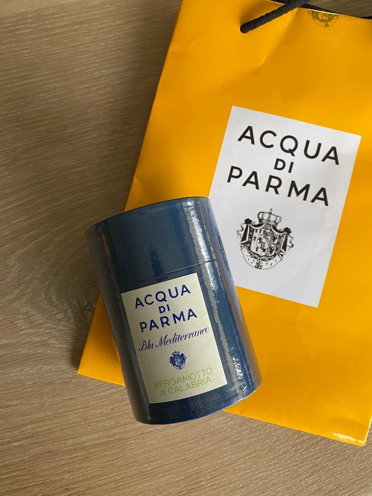 Review | Acqua di Parma geurkaars Bergamotto di Calabria