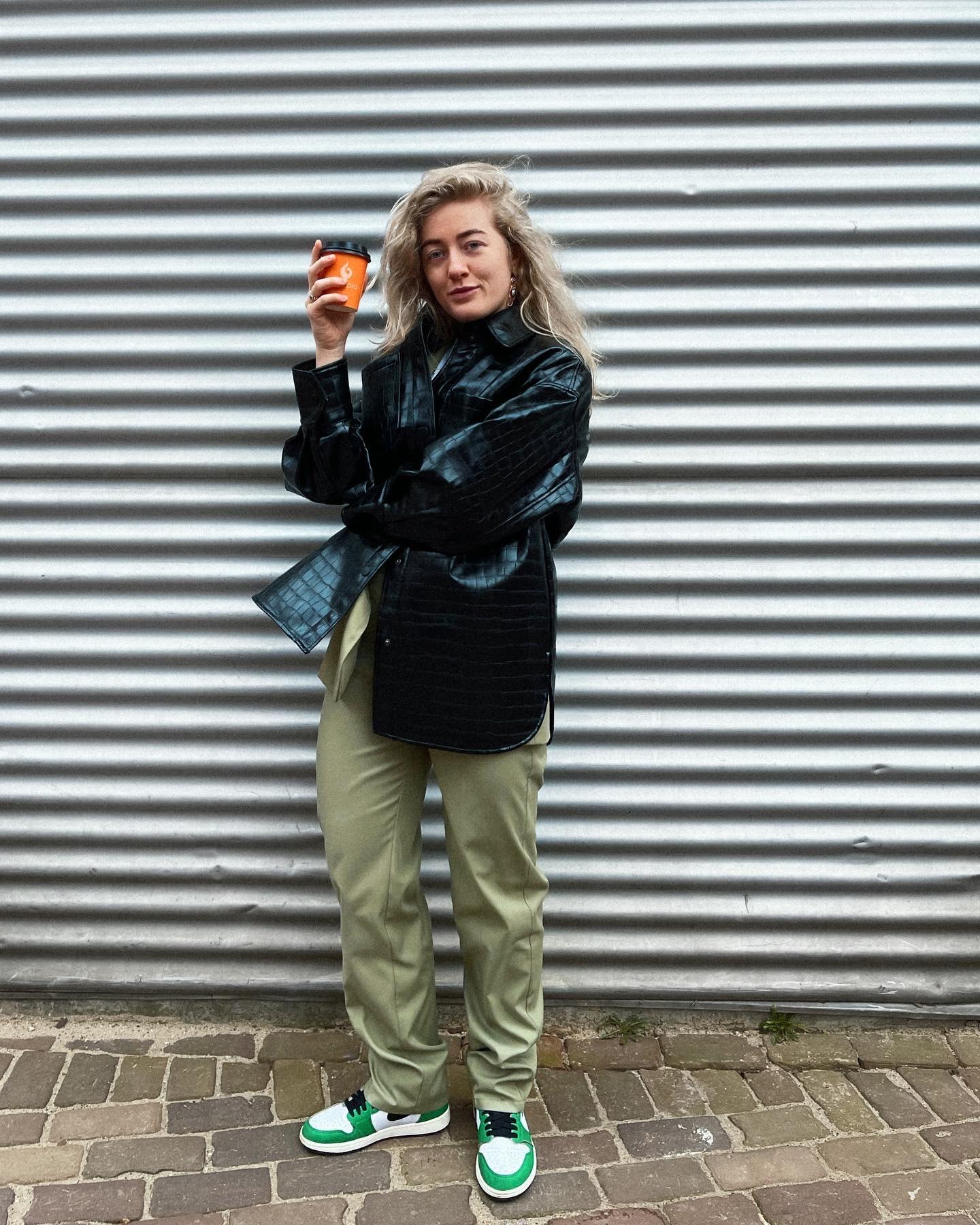 Get the Look: de leren jas van Maureen Elianne