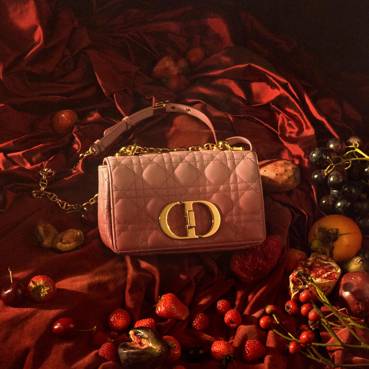 De Dior Caro lijn breidt uit met leren accessoires