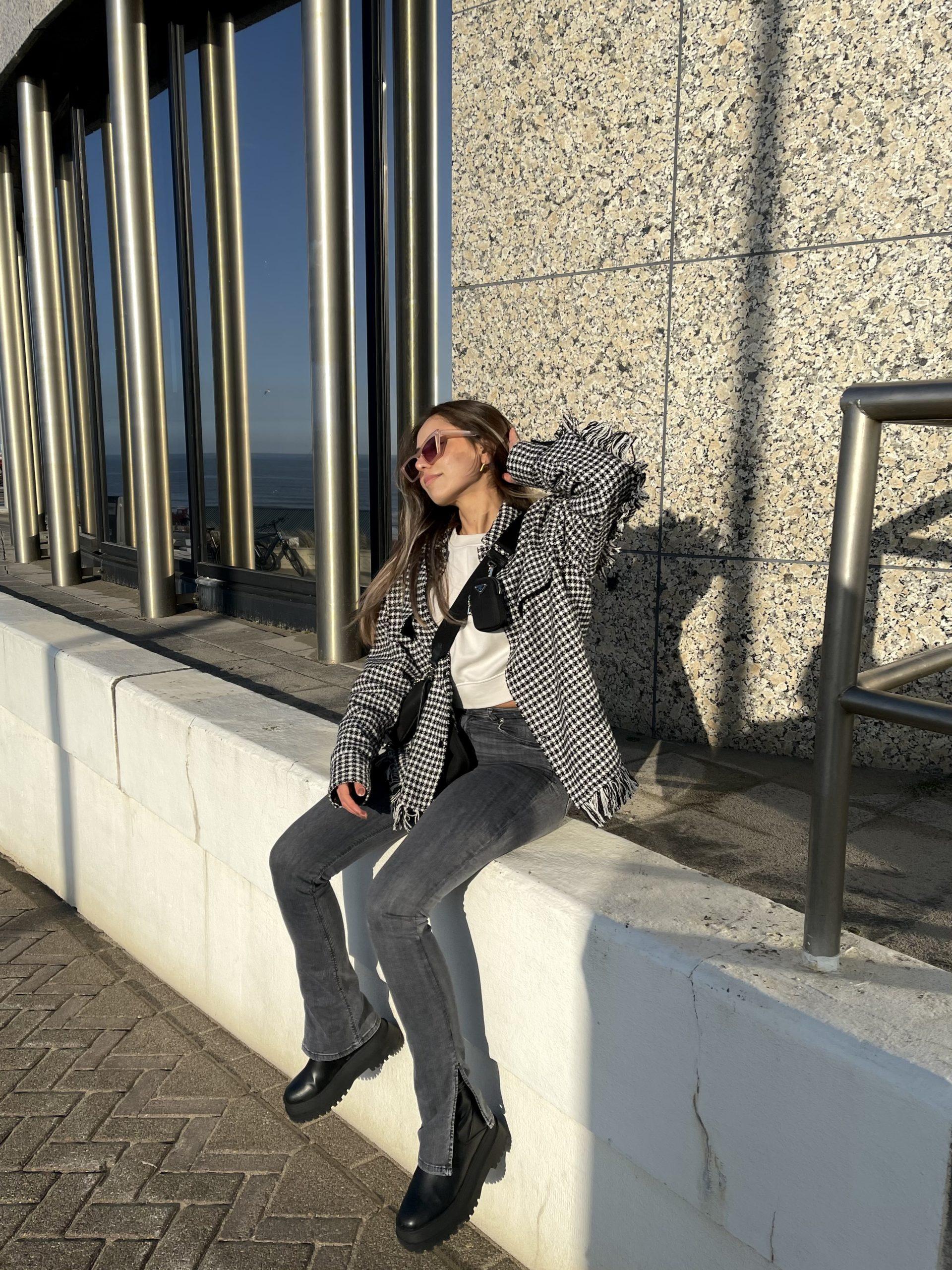 Get the Look: de geruite blouse van Serife