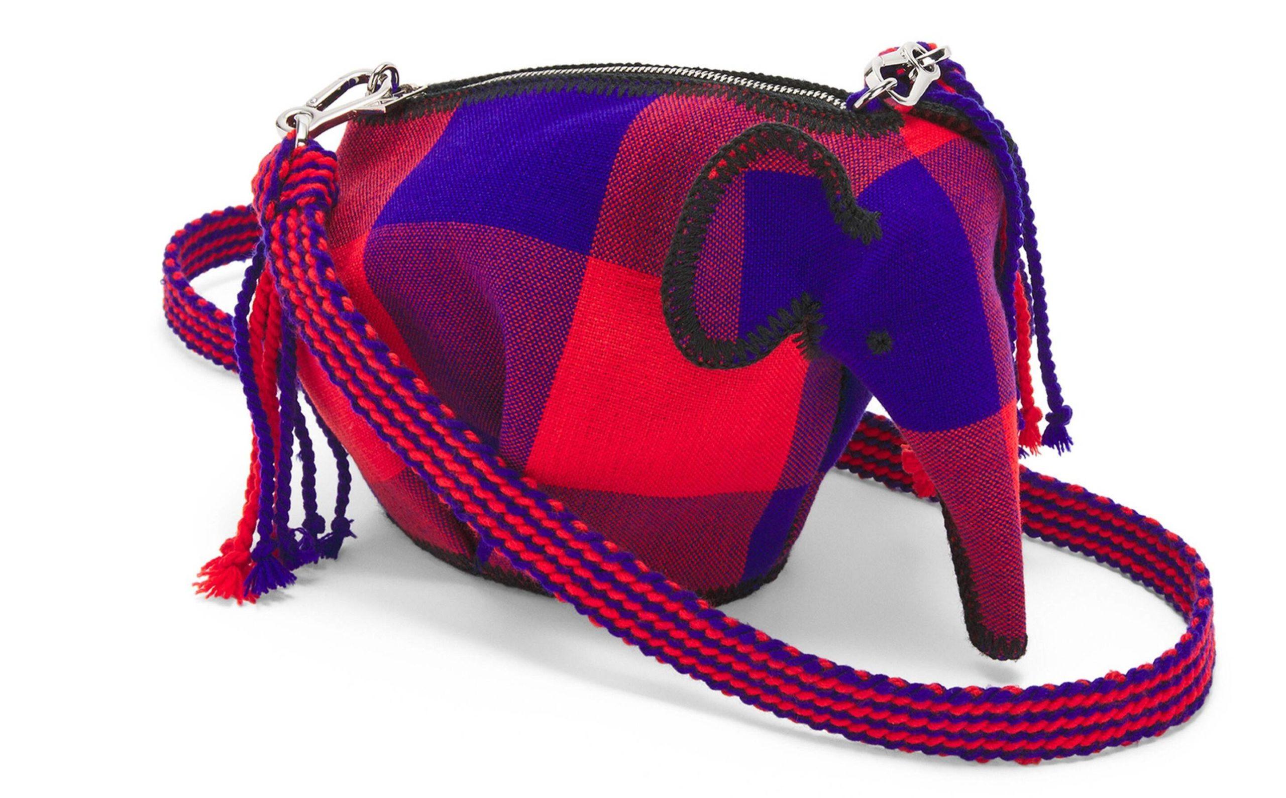 Loewe's Elephant mini bag helpt goede doel Knot On My Planet