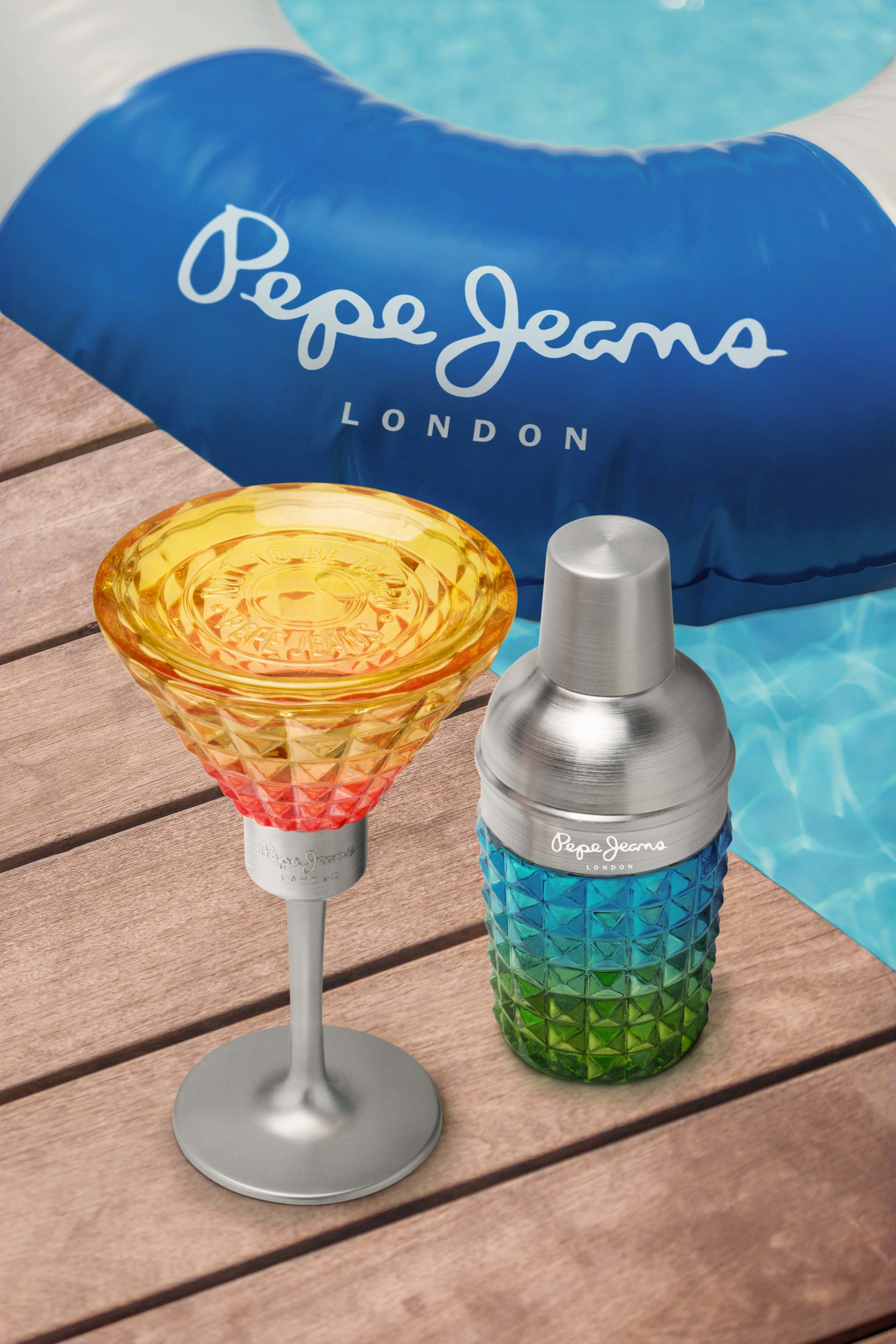 Pepe Jeans lanceert 'Cocktail Edition'-parfums