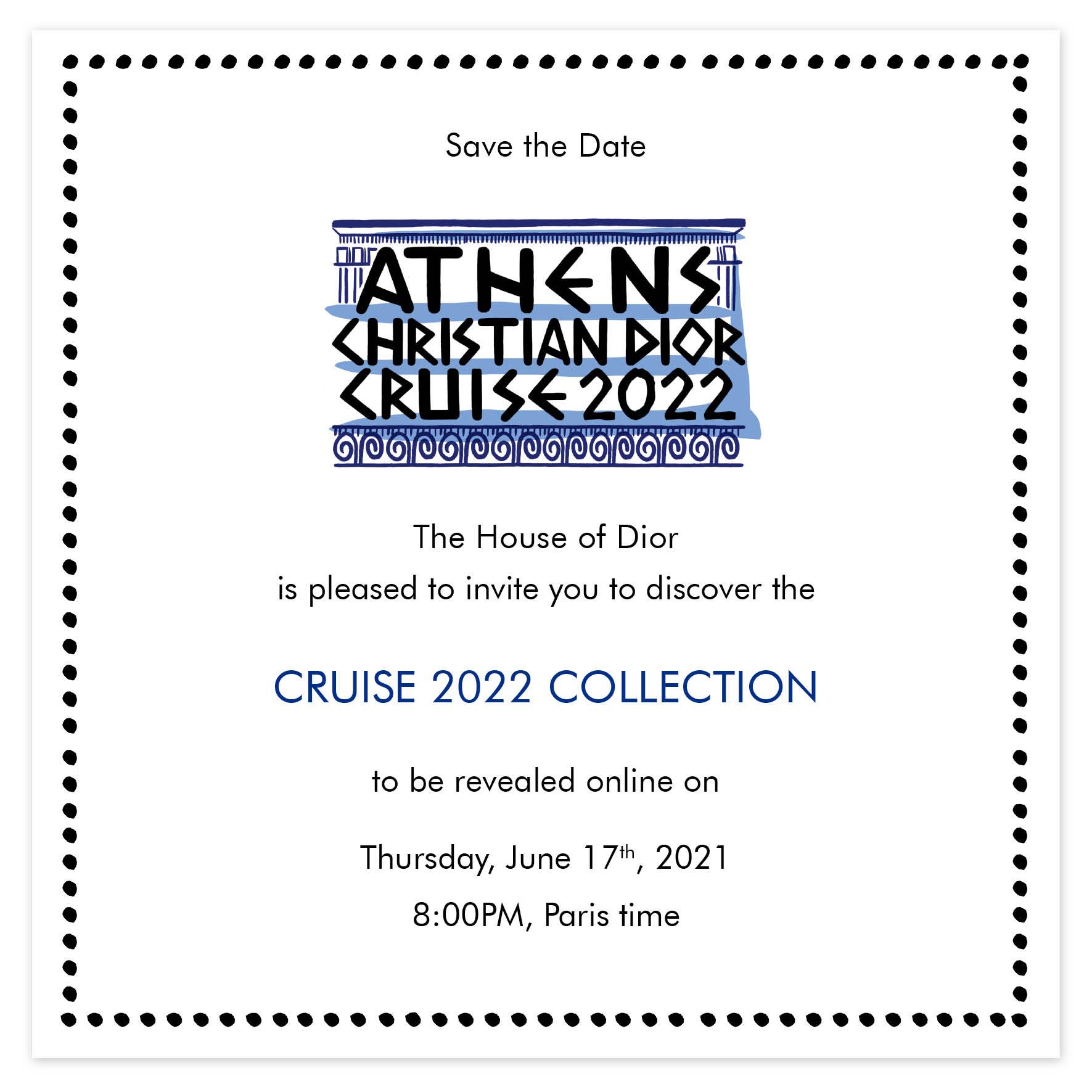Bekijk hier de Dior Cruise 2022 collectie