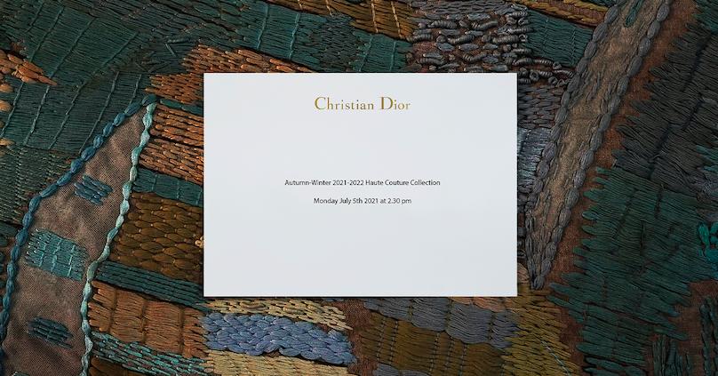Bekijk hier de Dior Haute Couture show