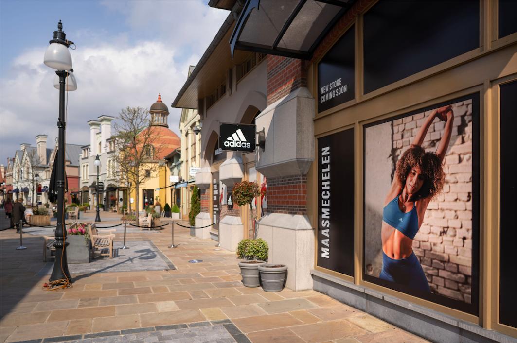 Adidas opent winkel in Maasmechelen Village