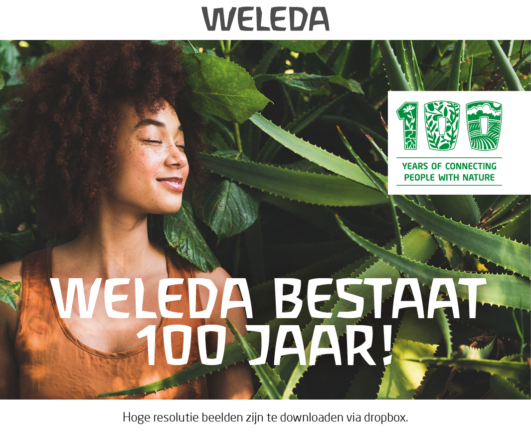 Vier samen met Weleda hun 100-jarig jubileum